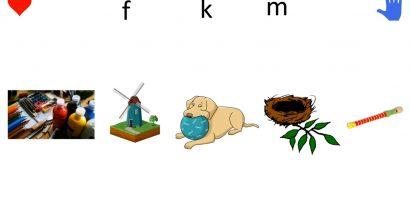 Olvasás 1. osztály – betűtanulás (f betű)