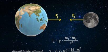 FIZIKA 9. osztály – Gravitációs erő