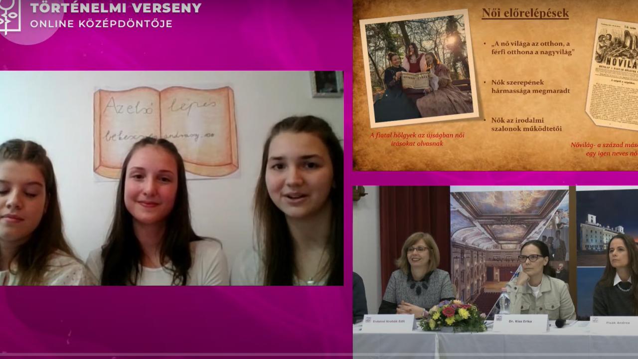 Kassai és komáromi gimisek az Esterházy történelmi vetélkedő döntőjében