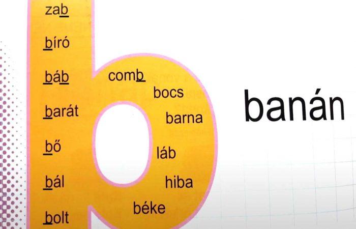 betű B