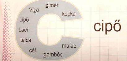 Távtanítás – A nyomtatott betűk: C, c