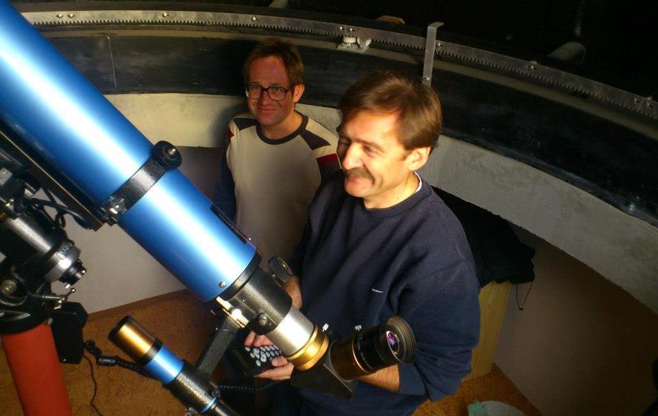 Amatőrcsillagászok