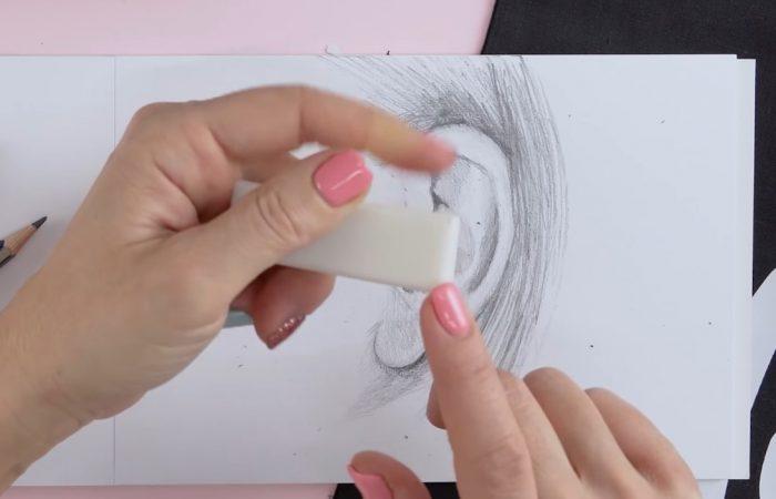 Hogyan rajzolj: fület | Rajz suli 3. Rész