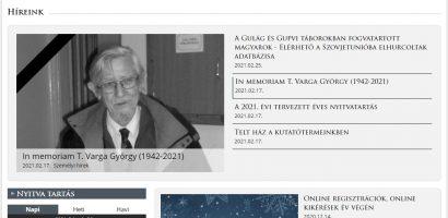 Digitális adatbázisok • A Magyar Nemzeti Levéltár internetes portálja