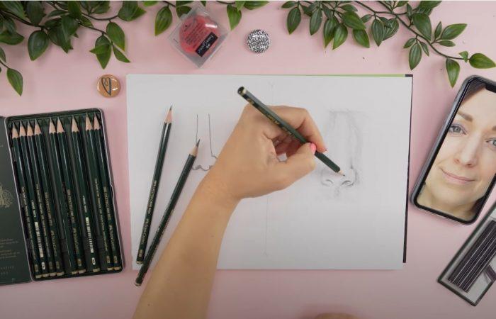 Hogyan rajzolj: orrot | Rajz suli 4. Rész