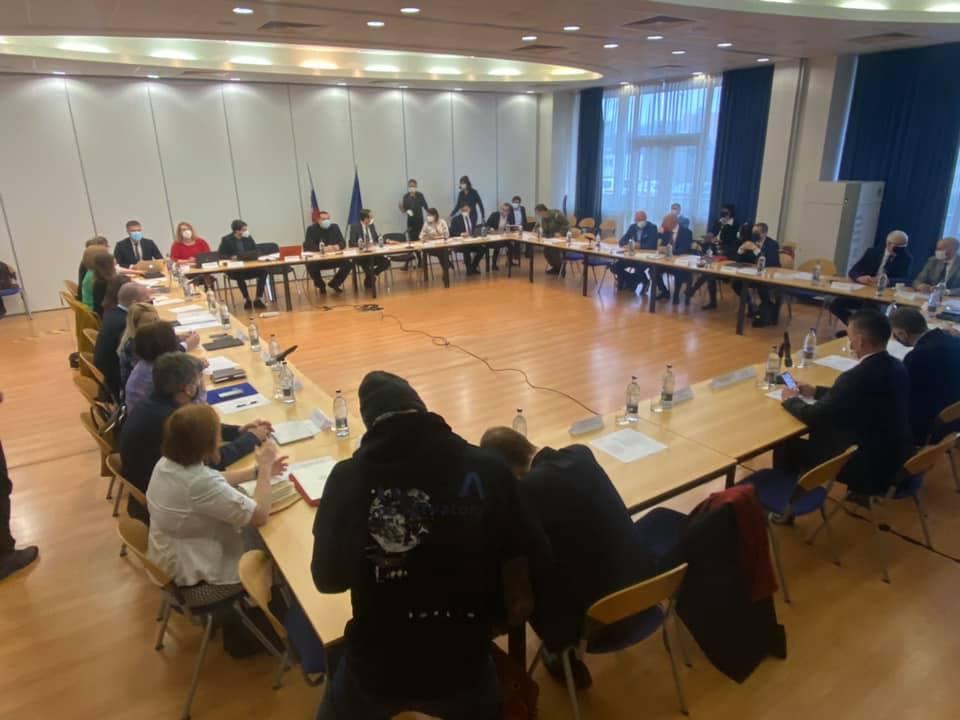 A járványbizottság keddi ülése