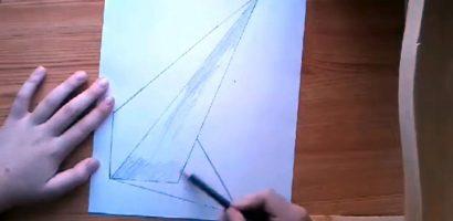 Rajz – 3D-s Piramis rajzolása