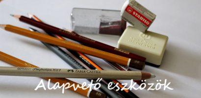 Rajz – Alapvető eszközök