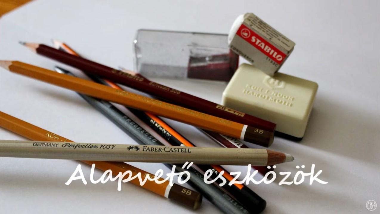 Rajz - Alapvető eszközök