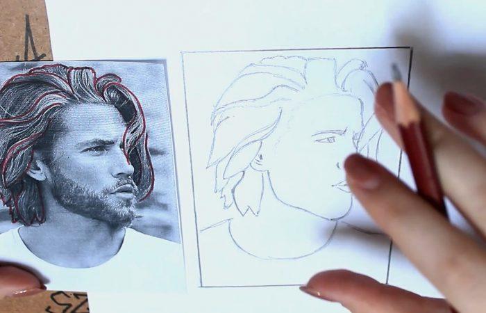 Rajz – Hogyan rajzolj hajat?