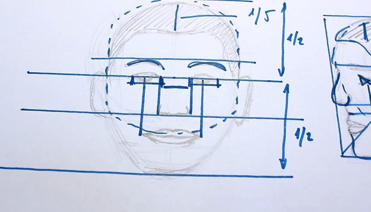 Rajz - Hogyan rajzolj portrét