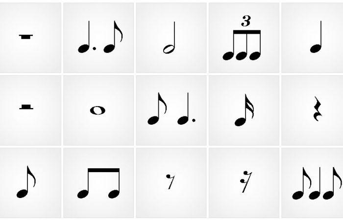 A ritmusok – Kottaolvasás egyszerűen