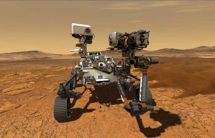 A Perseverance roverről – középiskolásoknak