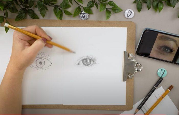 Hogyan rajzolj: szemet | Rajz suli 1. Rész