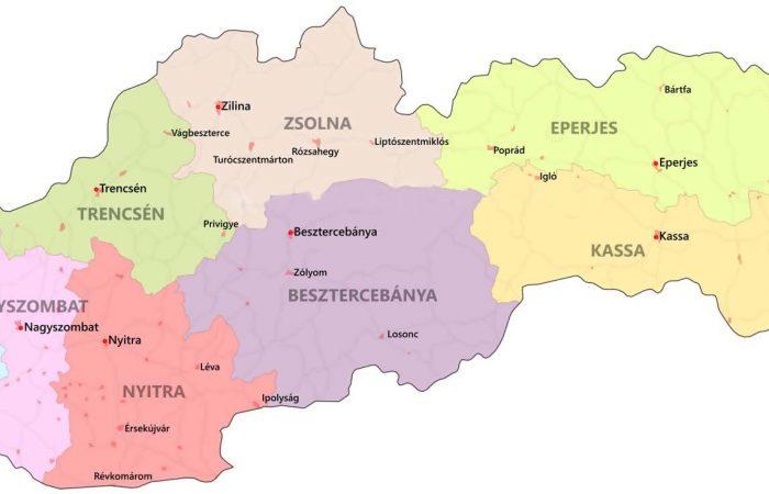 Szlovákia kerületi önkormányzatai