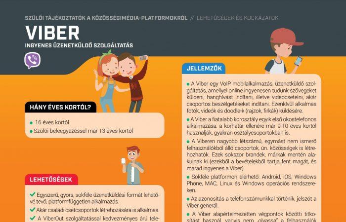 Digitális gyermekvédelem – Üzenetküldő alkalmazások