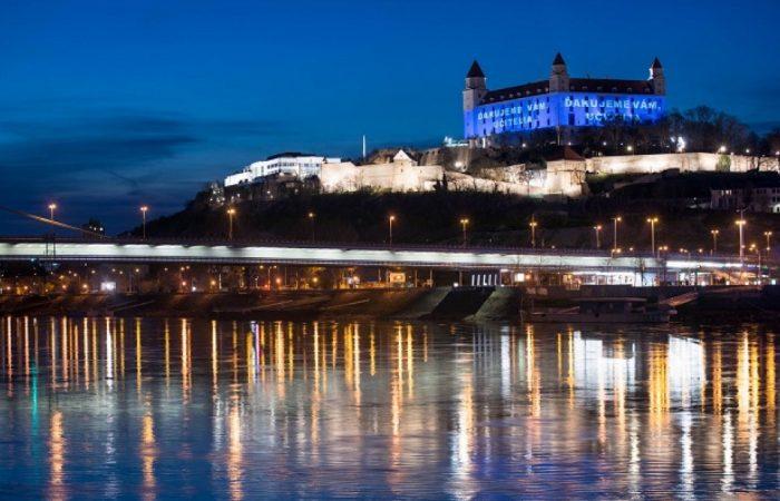 Díszkivilágítást kapott a vár