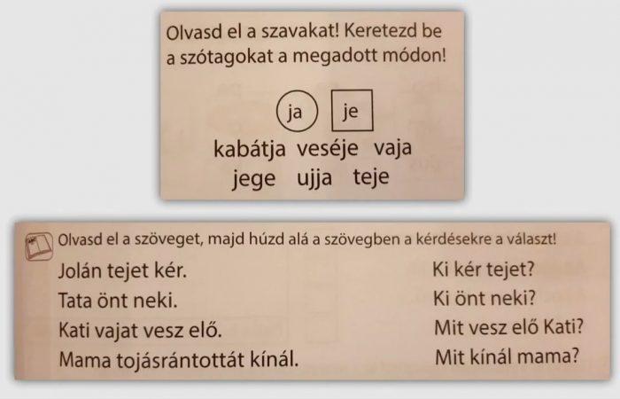 Távtanítás – A nyomtatott betűk:  J, j
