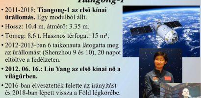 Az űrkutatás története II./2.: Modern űrállomások