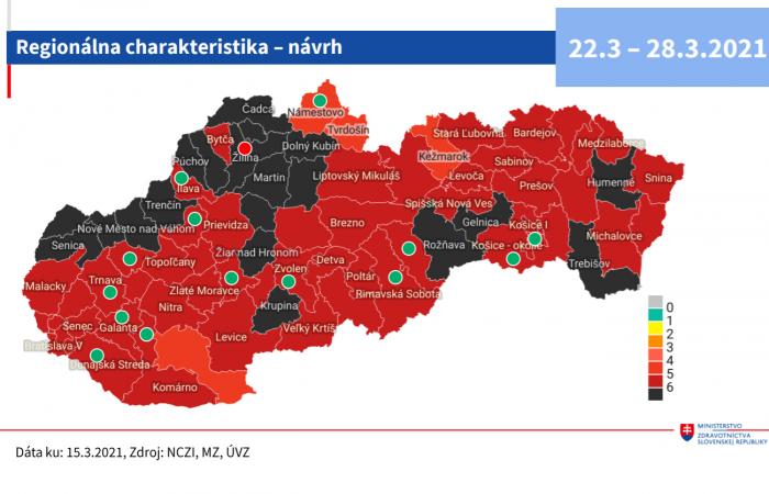 Galánta, Vágsellye, Dunaszerdahely sem lesz már fekete járás a jövő héttől