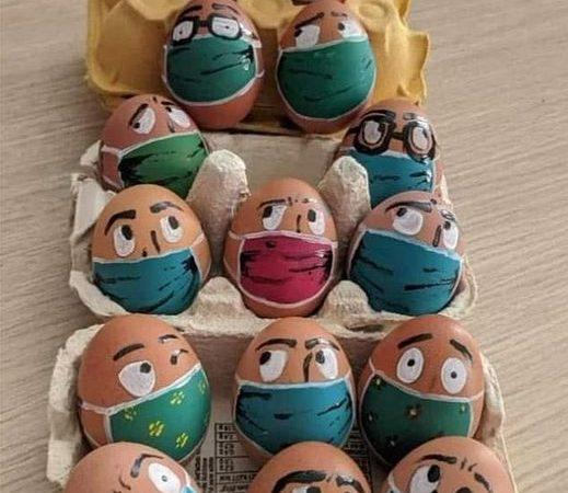 Korszerű ábrák a tojásdíszítésben