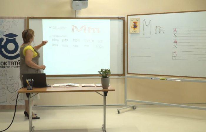 Távtanítás – A nyomtatott betűk: M, m