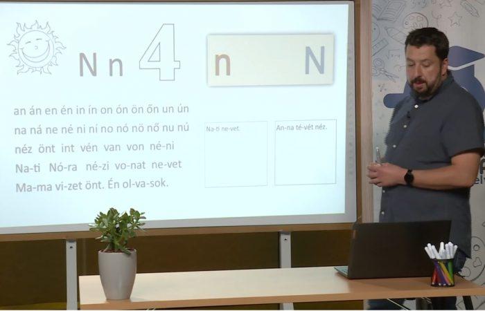 Távtanítás – A nyomtatott betűk: N, n