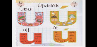 Távtanítás – A nyomtatott betűk: U, u, Ú, ú
