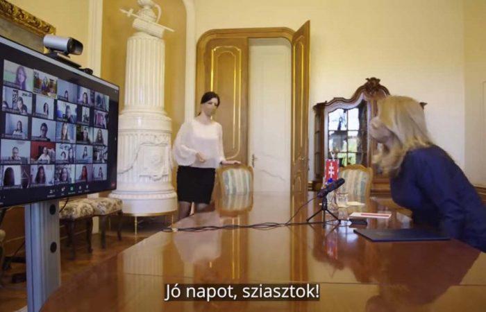 Cseregyerekek Zuzana Čaputovánál