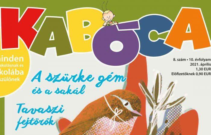 A Kabóca áprilisi számából