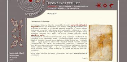 Az Országos Széchényi Könyvtár Magyar nyelvemlékek portálja