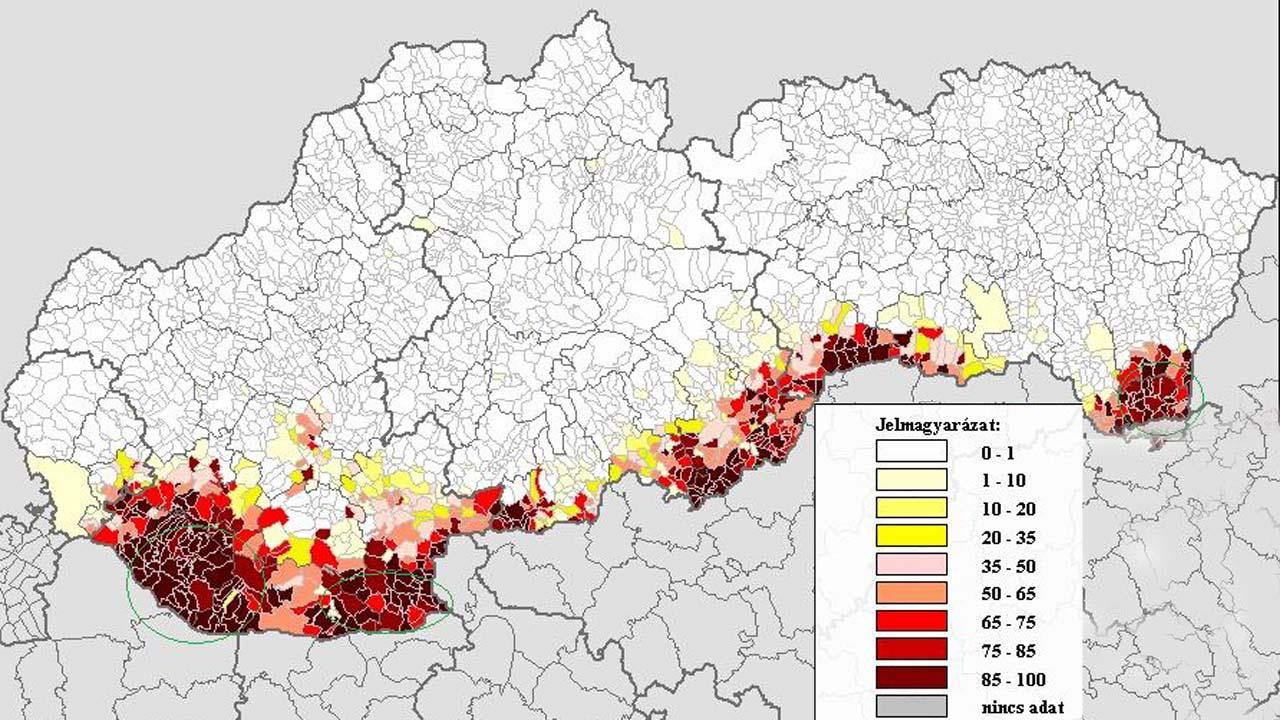 A szlovákiai magyar kisebbség története