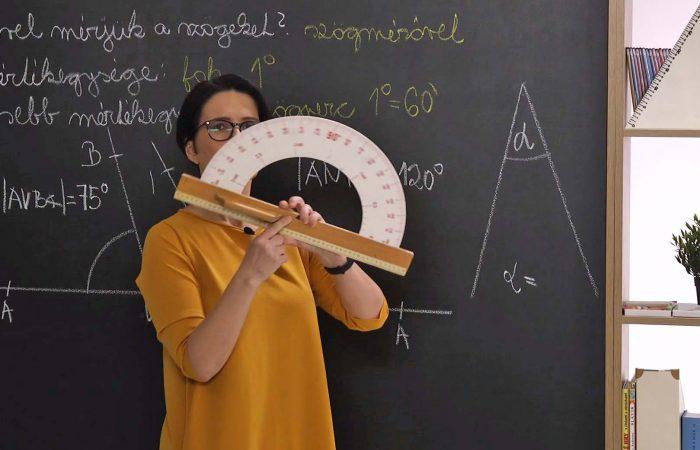 Matematika 6. o. – A szög nagysága, szögfokok és szögpercek