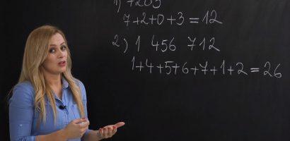 Matematika 6. o. – Oszthatóság hárommal, kilenccel