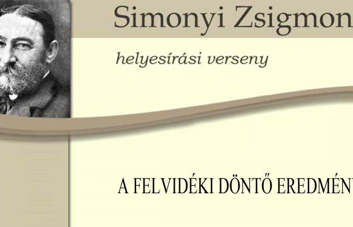 XXIV. Simonyi Zsigmond Kárpát-medencei helyesírási verseny – EREDMÉNYEK