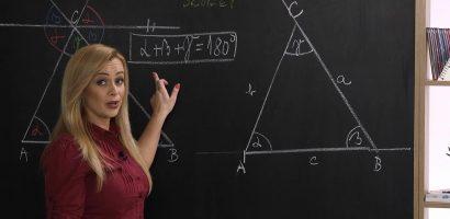 Matematika 6. o. – A háromszög belső és külső szögei