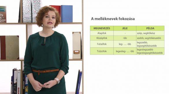 Magyar nyelv – A melléknevek (fokozás és helyesírás)