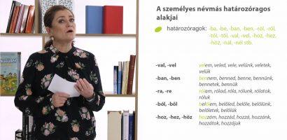 Magyar nyelv – A névmások (a személyes névmások)