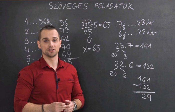 Matematika 6. o. – A számtani közép, feladatok