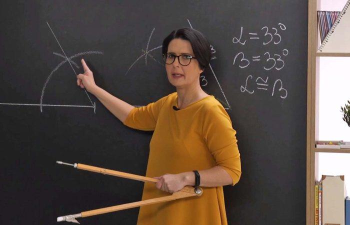 Matematika 6. o. – A szögfelező