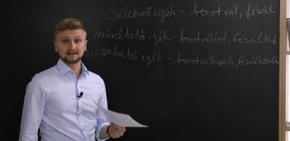 Magyar nyelv – Az igék: felosztás a cselekvő és cselekvés viszonya szerint