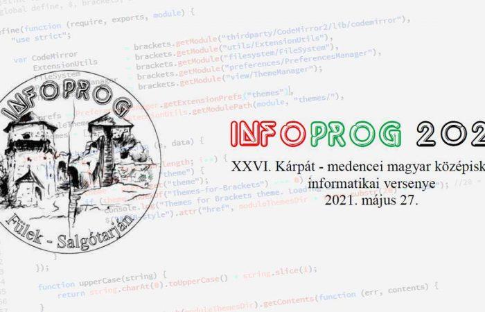 A Selyések is remekül szerepeltek az Infoprog 2021 versenyen