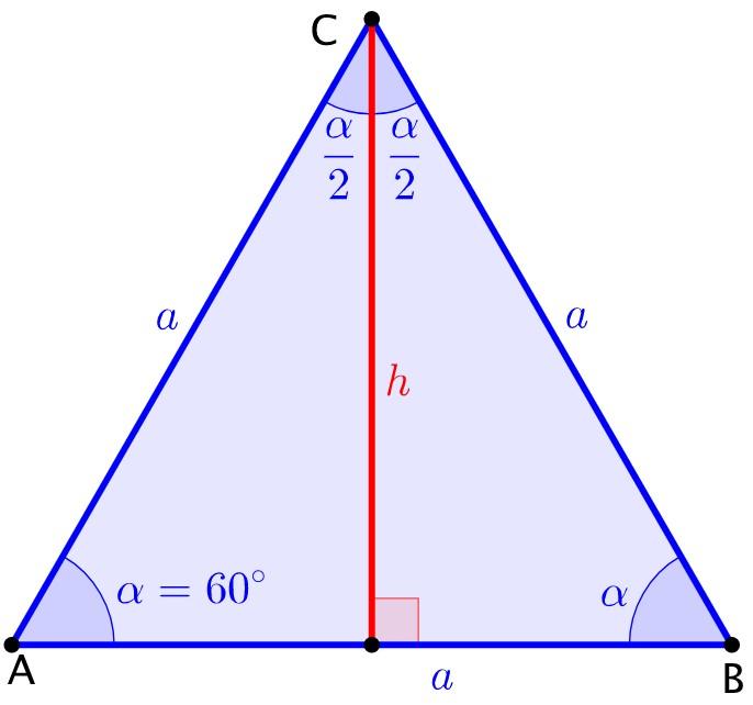 A szabályos háromszög