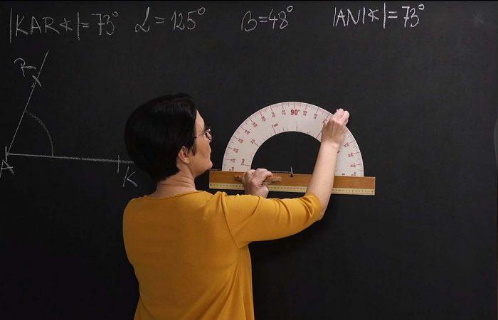 Matematika 6. o. – A szögek szerkesztése