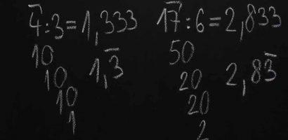 Matematika 6. o. – A tizedes törtek helyi érték szerinti befejez(het)etlen felbontása, a (végtelen) szakaszos tizedestört