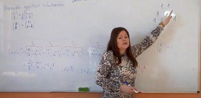 Távtanítás – Középiskola 4. o. – A binomiális tétel