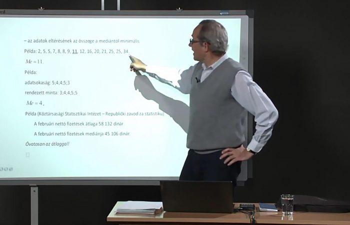 Távtanítás – Középiskola 4. o. – Matematikai statisztika