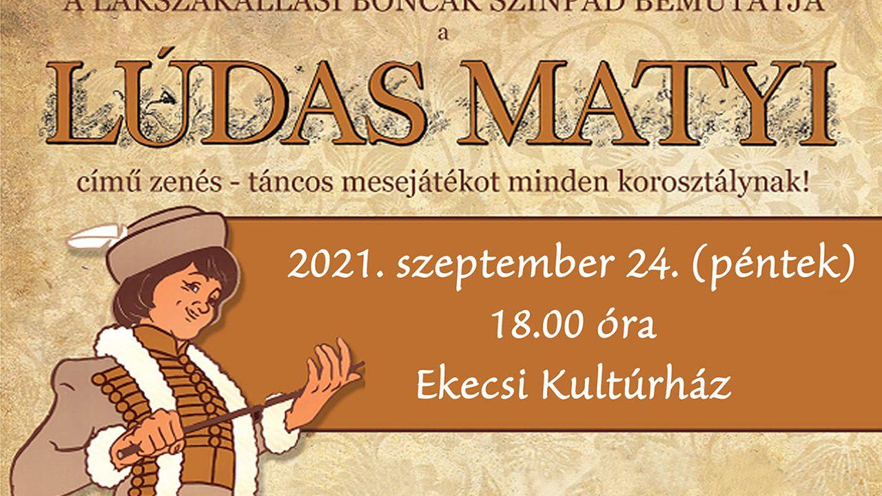 Lúdas Matyi Ekecs-Apácaszakállason