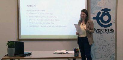 Távoktatás – Magyar nyelv – Az írásjelek