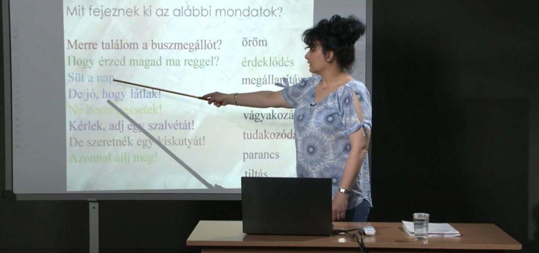 Távoktatás – Magyar nyelv – A mondatvégi írásjelek írása